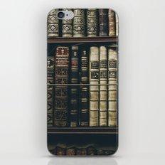 BOOKS - SHELF - PHOTOGRAPHY iPhone & iPod Skin