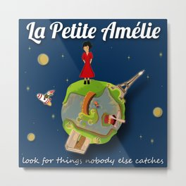 La Petite Amelie Metal Print