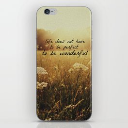 Grainy Love-w/text iPhone Skin