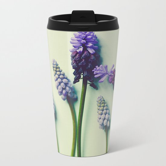 She Liked Everything in it's Place Metal Travel Mug