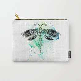 Watercolor dragonfly Carry-All Pouch