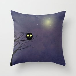Night Owl ~~ Throw Pillow