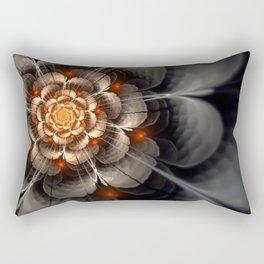 Sunrise on a Rose Rectangular Pillow