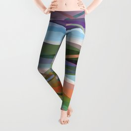 Abstract Composition 671 Leggings