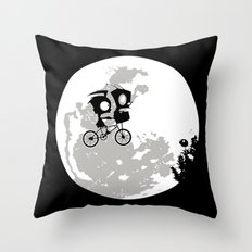 Dib and the E.T Throw Pillow