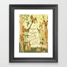 A Personal Statement Framed Art Print