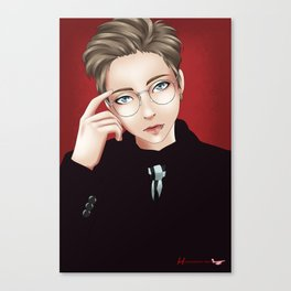 Minseok (EXO) Canvas Print