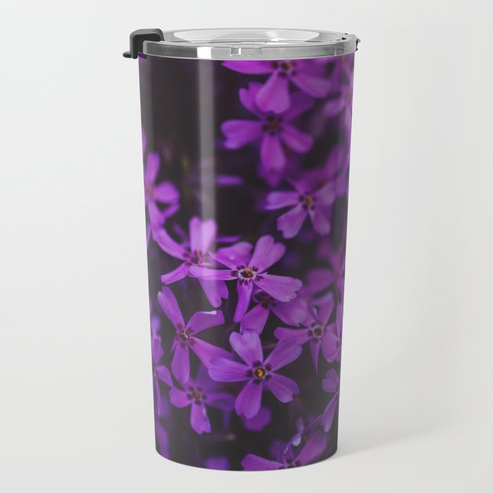 Purple Blossoms Travel Mug