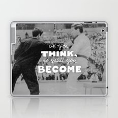 Bruce Says: As you Think Laptop & iPad Skin