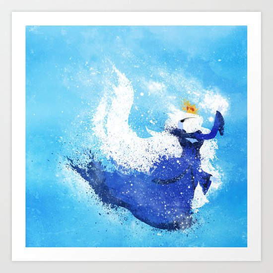 Freeze! Art Print