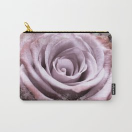 Pastel Pink Lilac Rose #1 #floral #art #society6 Carry-All Pouch