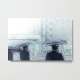 Denied anything ardently desired except the secret lore of the ocean Metal Print