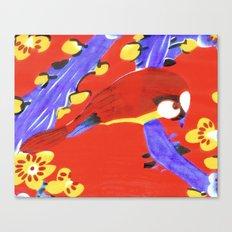 The Bird of Love Canvas Print