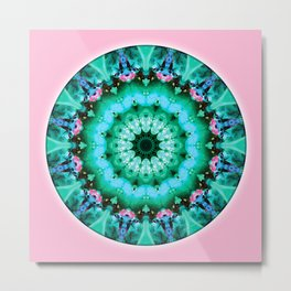 Mandalas from the Heart of Transformation 5 Metal Print