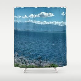 LAGO ENRIQUILLO Shower Curtain