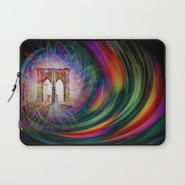 Our world is a magic - Time Tunnel 101 Laptop Sleeve