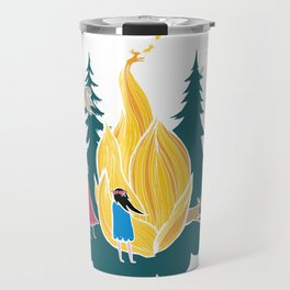 Midsummer bonfire (Kokko) Travel Mug