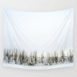 Tree line-brown  Wall Tapestry