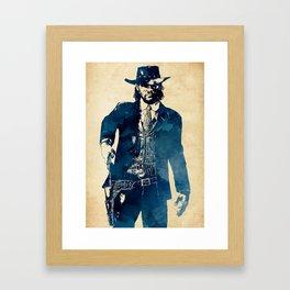 John Marston Framed Art Print