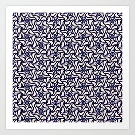 Pattern flower 4 Art Print