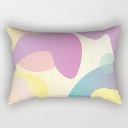 Funky Abstract Pattern Rectangular Pillow