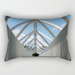 The #bridge in Plessiville Rectangular Pillow