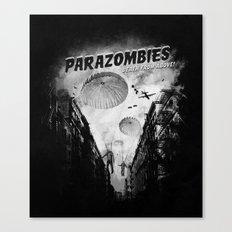 Parazombies Canvas Print