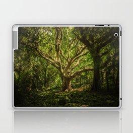 The old wizard Laptop & iPad Skin