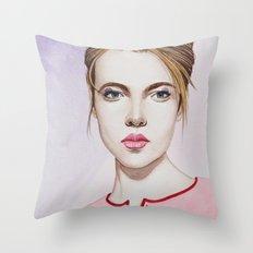Close Up 17 Throw Pillow