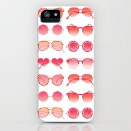 Sunglasses Collection – Pink Ombré Palette iPhone Case