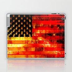 God Blesses the American Flag Laptop & iPad Skin