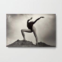 Dance Healing Metal Print