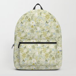 Daisies and Dragonflies (small scale) Backpack
