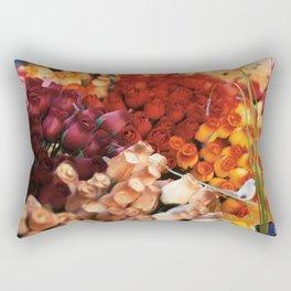 un jour de marché Rectangular Pillow