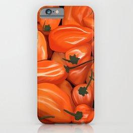 Habanero Peppers iPhone Case