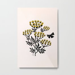 Buds and Butterflies Metal Print