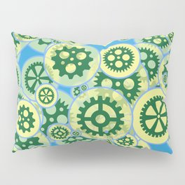 Gearwheels Pillow Sham