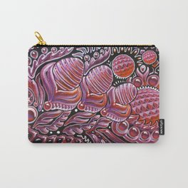 Red Lady / Dragon Eggs Carry-All Pouch