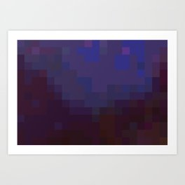 ABSTRACT PIXELS #0012 Art Print