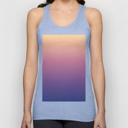 Chicago Afternoon Gradient Unisex Tank Top