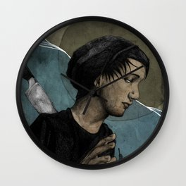 Lost in the Ocean Wall Clock