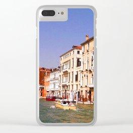Grand Canal, Venice Clear iPhone Case