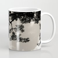 japan Mugs featuring japan by noirblanc777