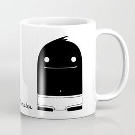 """I know how to pee"" Monster Coffee Mug"