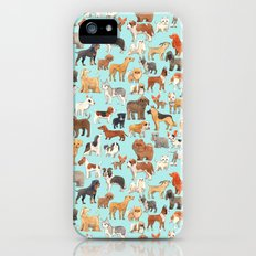Dogs Slim Case iPhone (5, 5s)