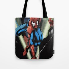 Gritty Spidey Swing Tote Bag