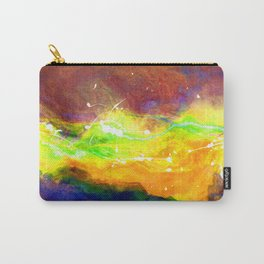 Lightning Abstract Of Freedom Carry-All Pouch
