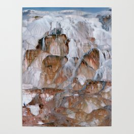 Mammoth Hot Springs Yellowstone Poster