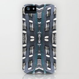 London patterns iPhone Case