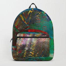 Egyptian wall III Backpack